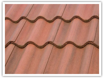 pitched roof tiles